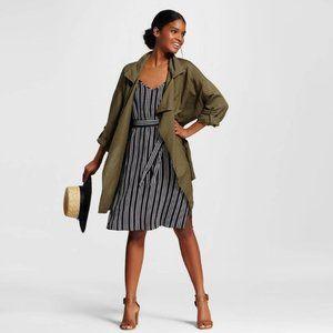 Who What Wear Women's Belted Slip Dress